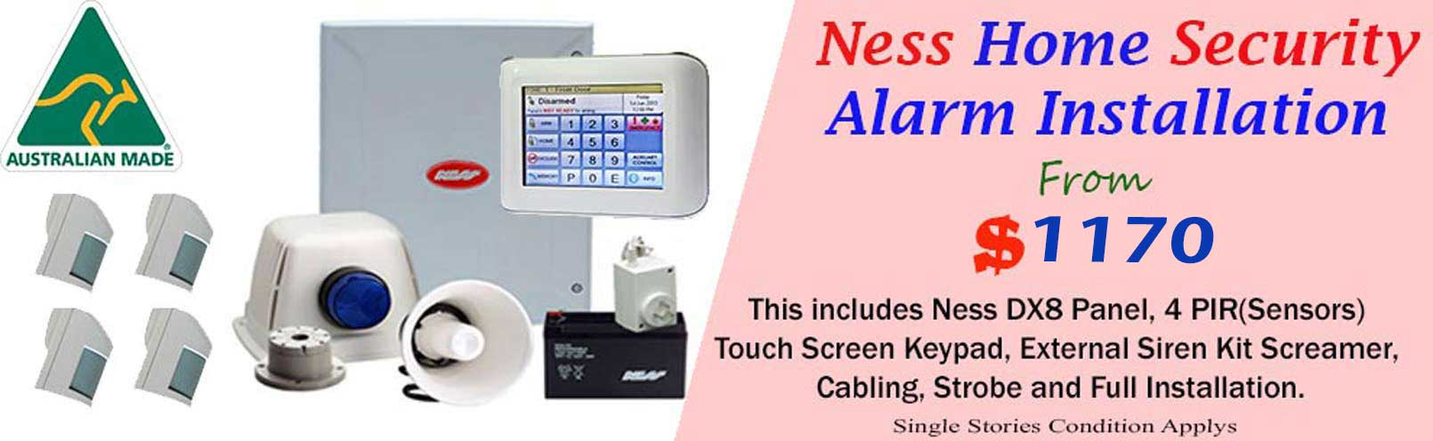 Ness Home Security Alarm